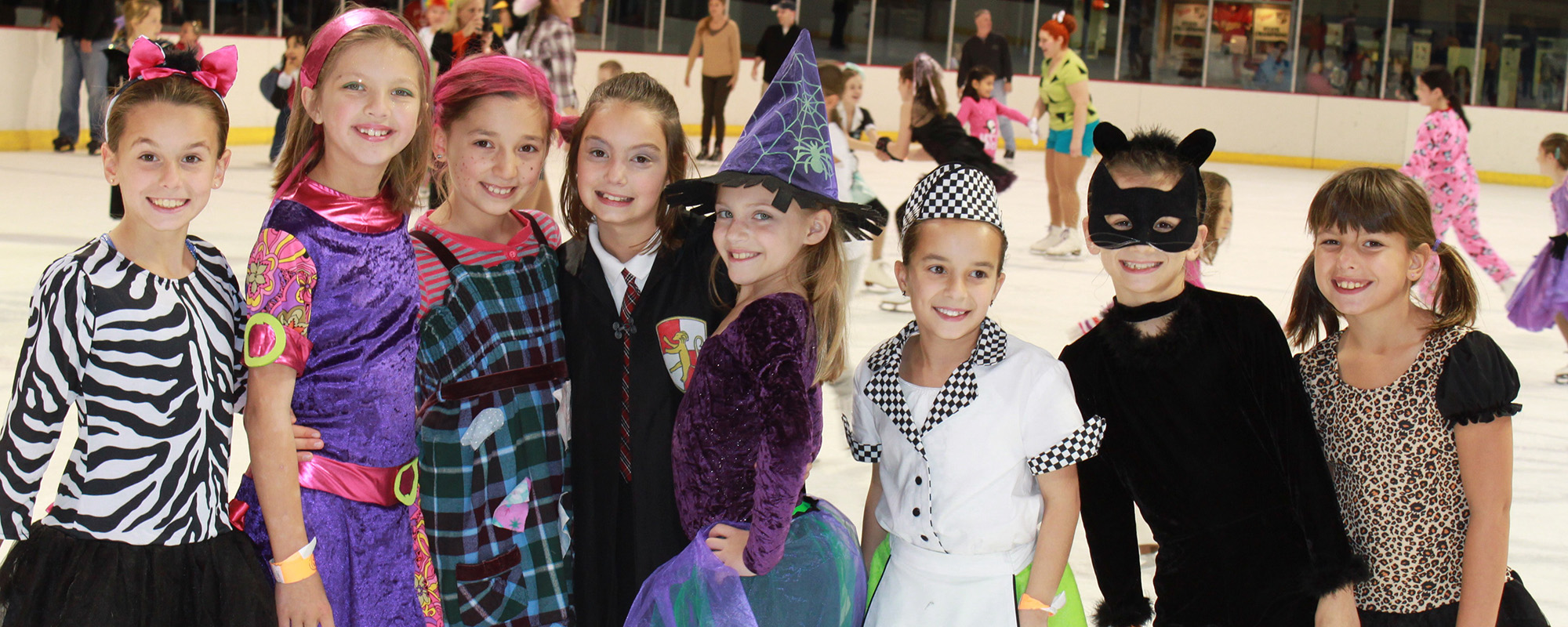 Get out on the ice for Kooky Spooky Skate!